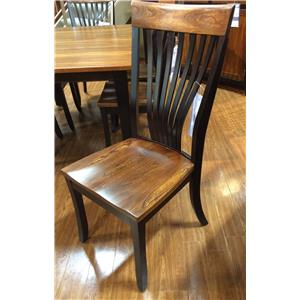 Palettes by Winesburg BLK/ELM Two Toned Side Chair