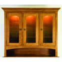 Palettes by Winesburg Highland Customizable Dining Hutch - Item Number: HL-HUTCH