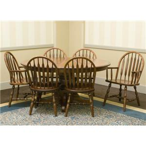 Customizable 7 Pc. Table & Chair Set