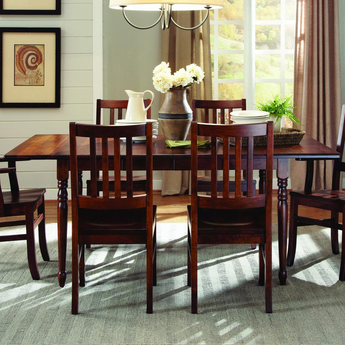 Lance  Customizable Drop-Leaf Table by Palettes by Winesburg at Dinette Depot