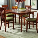 """Palettes by Winesburg Lifestyles Lite Dining 36"""" x 58"""" Table - Laminate Top - Item Number: LAM3658A0"""