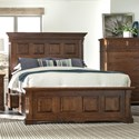 Palettes by Winesburg Longmeadow King Size Panel Storage Bed - Item Number: 317-11462