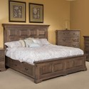 Palettes by Winesburg Longmeadow King Size Panel Storage Bed - Item Number: SG-11462