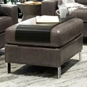 Palliser Bello Ottoman - Item Number: 10002-04-Walnut