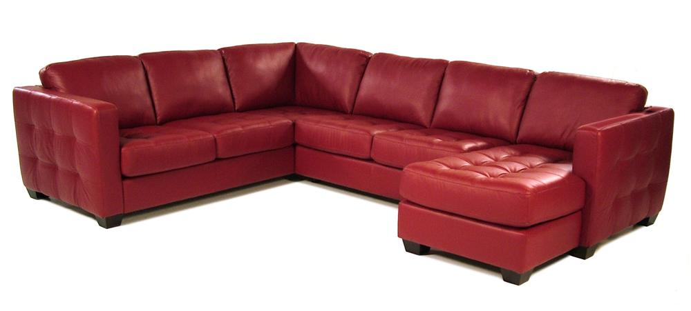 Sofa Sectional with Decorative Track Arm