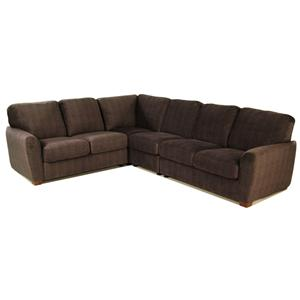 Palliser Capitol 4 Piece Sectional