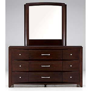 Casana Rodea 9 Drawer Dresser and Mirror