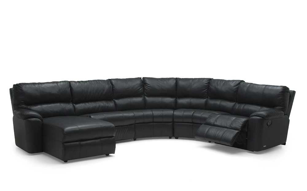 Yale 41059 Chaise And Recliner Corner Sectional By Palliser