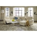 Palliser Arlo Sectional Sofa - Item Number: 41130-7P+2x70+09+W2+56-BROA ALA