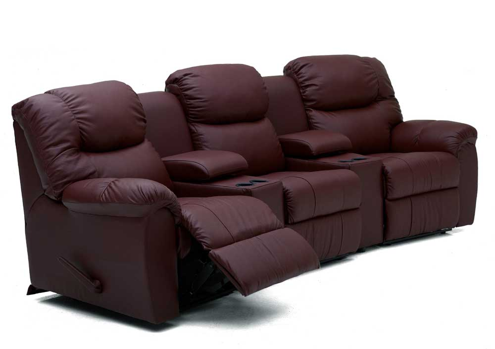 Palliser Regent Three Recliner Home Theater Sectional Conlin 39 S Furniture Reclining Sectional