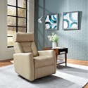 Palliser Baltic II Power Swivel Gliding Recliner - Item Number: 43411-38-Mystic Sesame