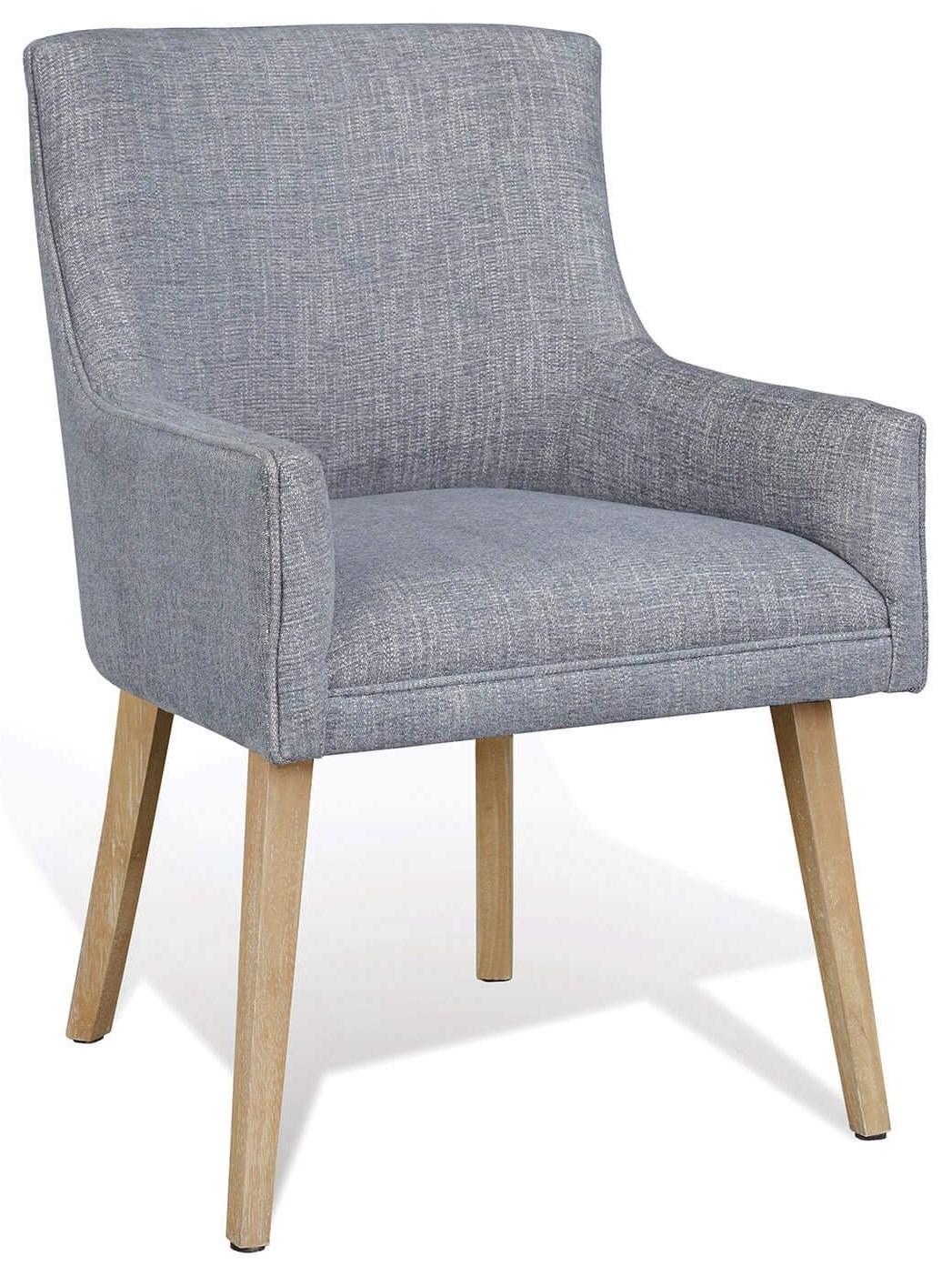 Sarah Richardson Boulevard Bv Arch Arm Chair/pale Blue by Palliser at Stoney Creek Furniture