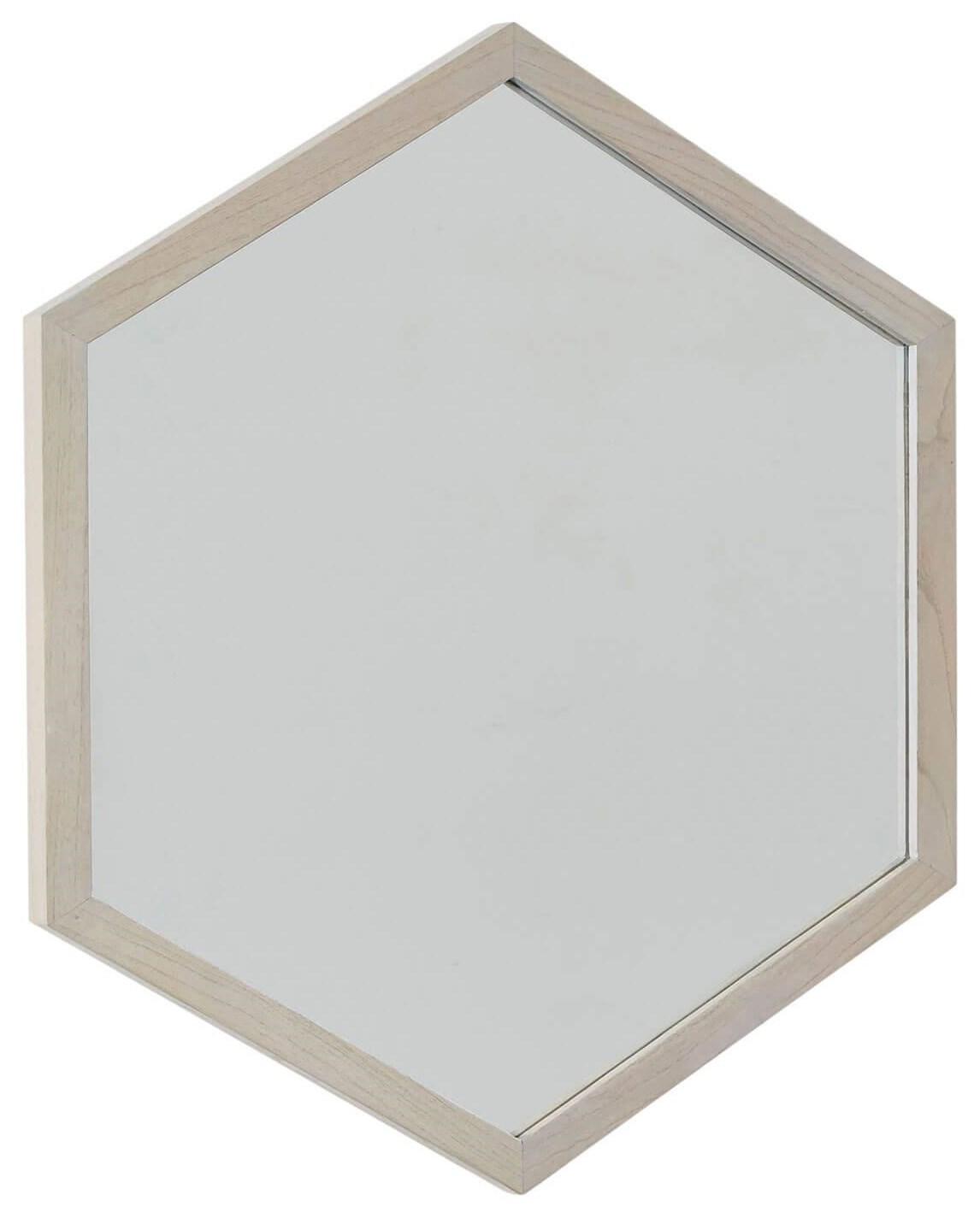 Sarah Richardson Vista Vista Hexagon Mirror by Palliser at Stoney Creek Furniture