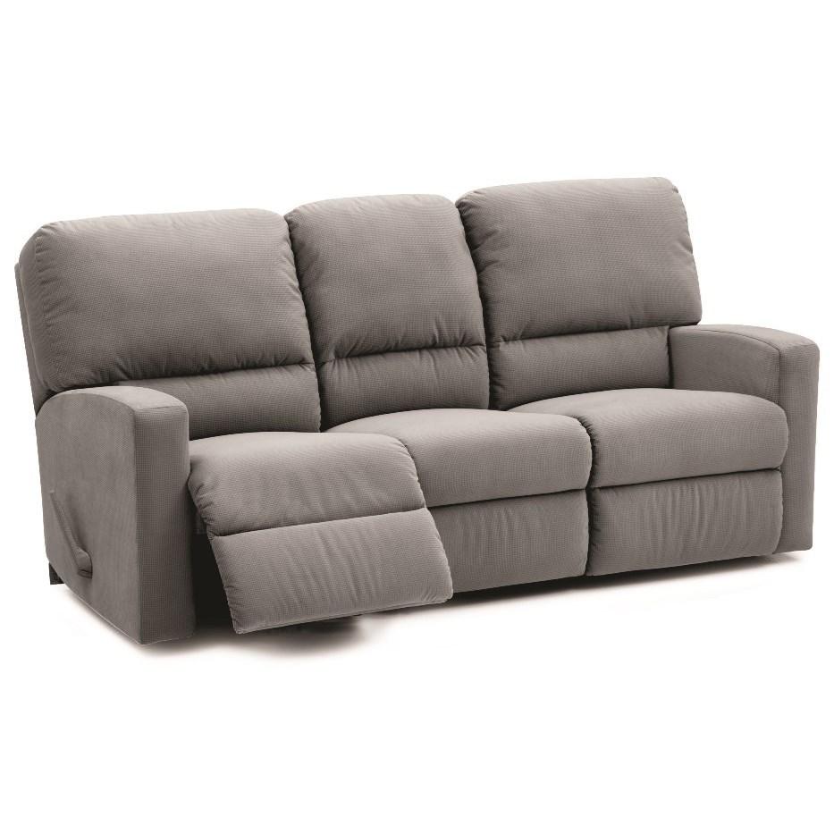 North America 46205 Power Reclining Sofa - Item Number: 46205-61-Flight Silver