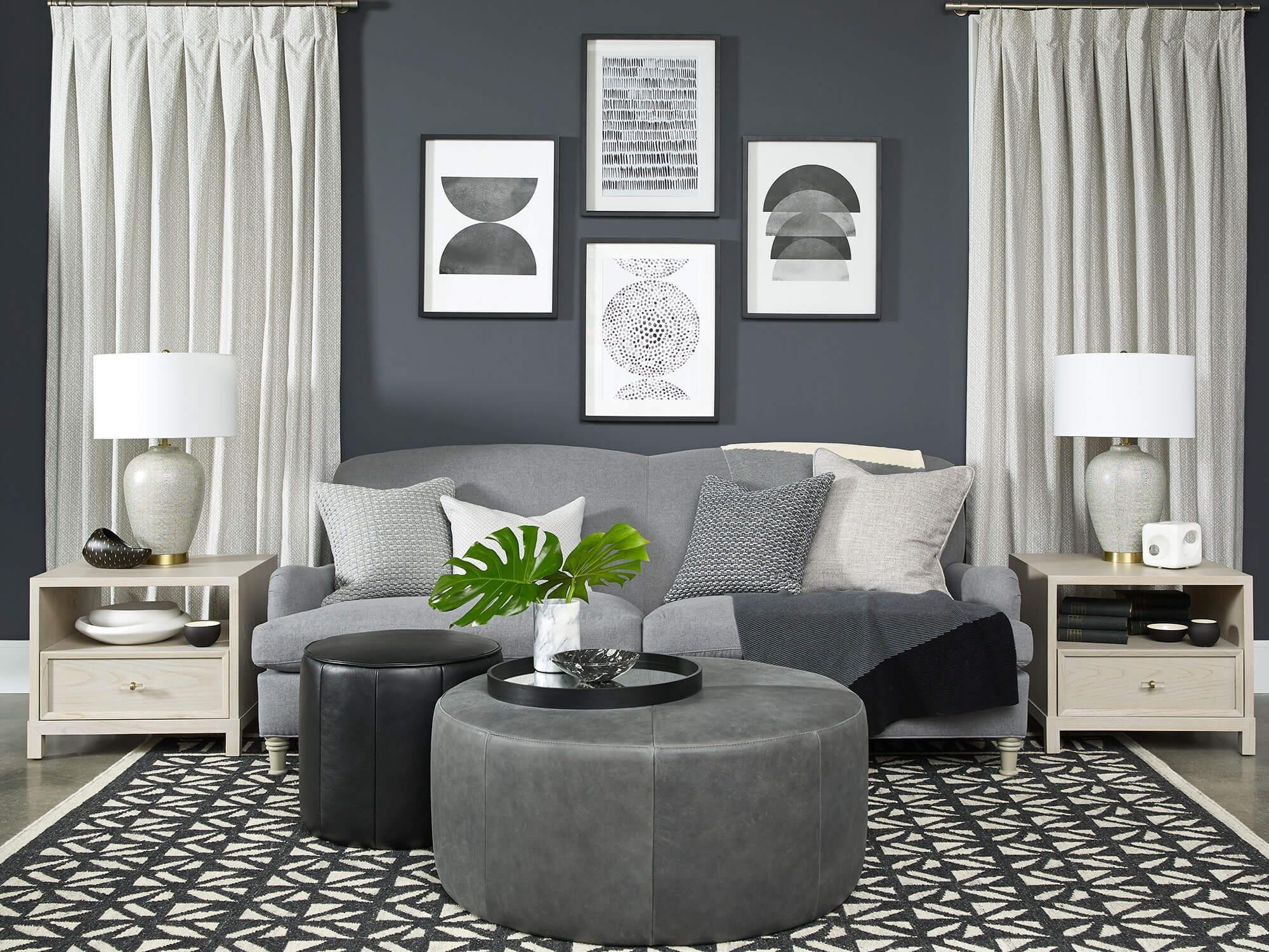 Vantage Sofa-jumper Ink/gr3