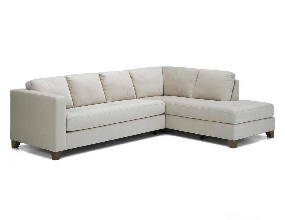Palliser Jura Leather Upholstered Sectional Sofa Dunk