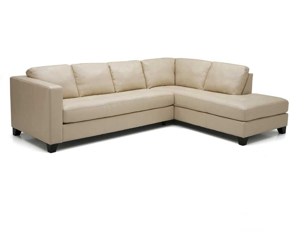 Palliser Jura Leather Upholstered Sectional Sofa Belfort