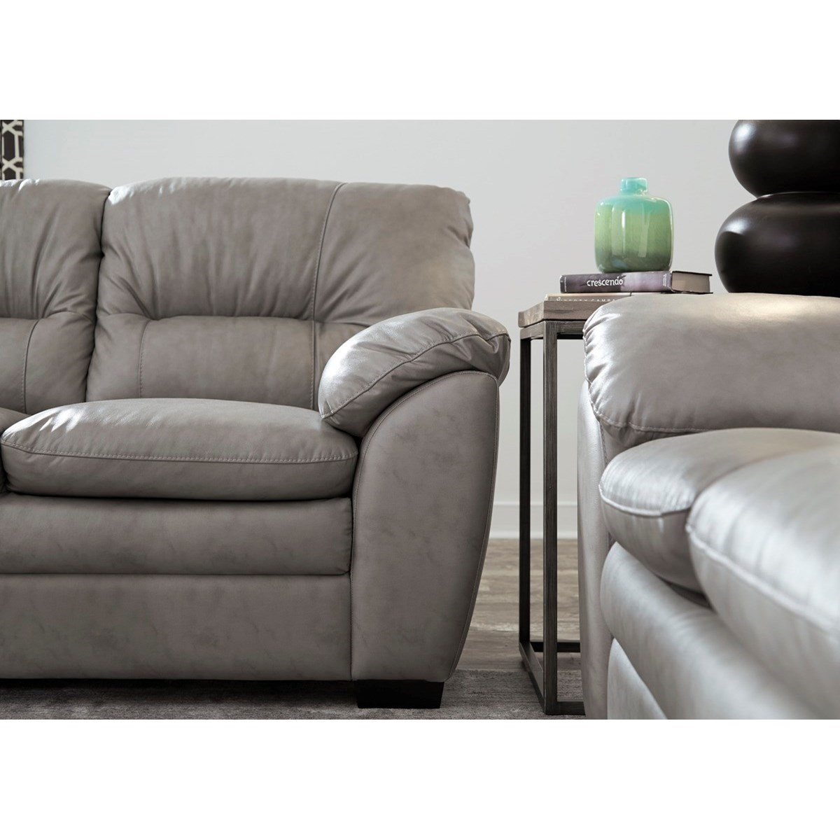 Palliser Amisk Casual Sofa With Pillow Arms Belfort Furniture Sofas
