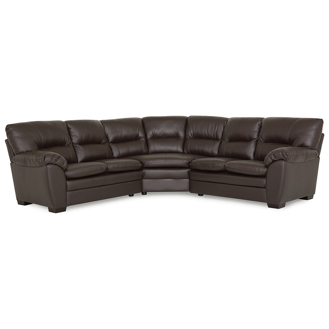 Amisk Sectional  by Palliser at Reid's Furniture