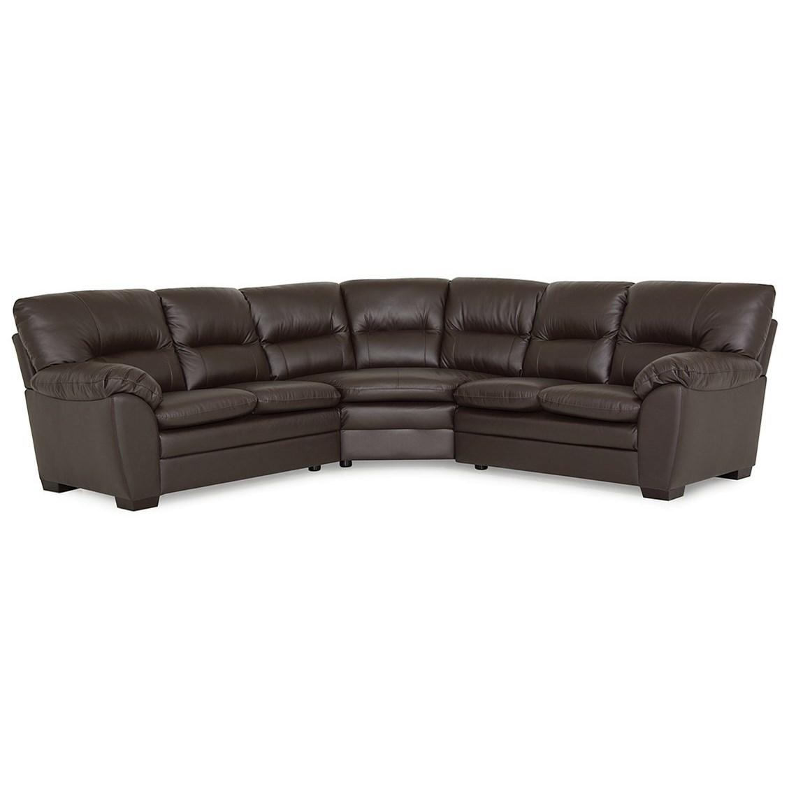 Amisk Sectional  by Palliser at A1 Furniture & Mattress