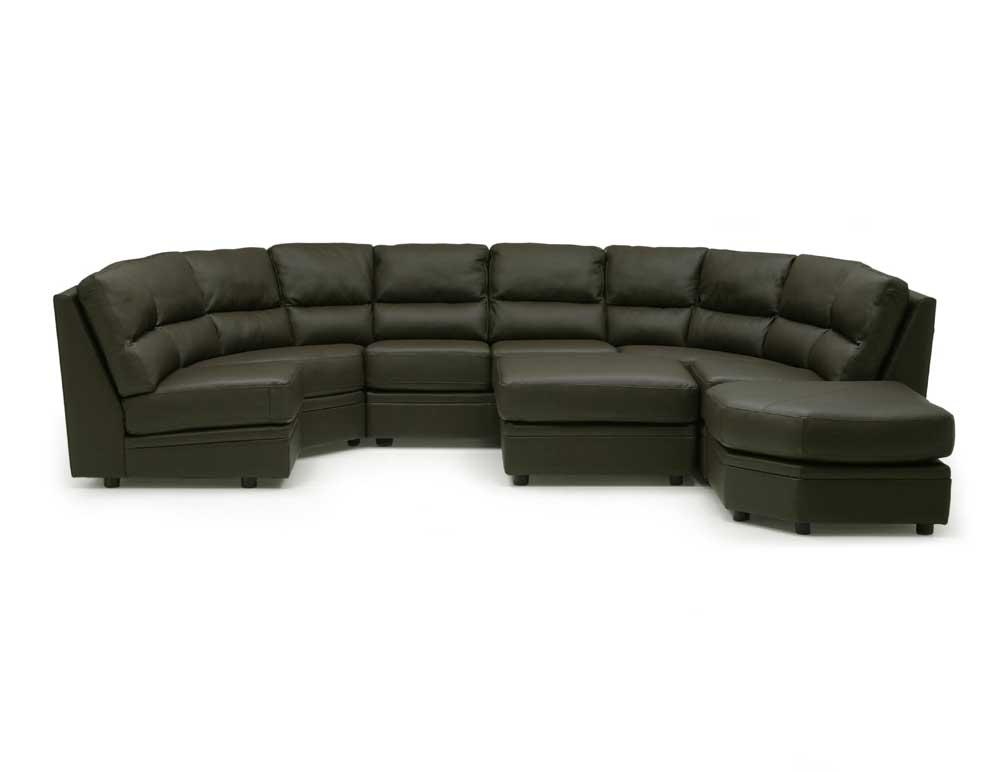 Palliser Cypress Sectional Sofa - Item Number: 77495-09+14+55+56+2x23