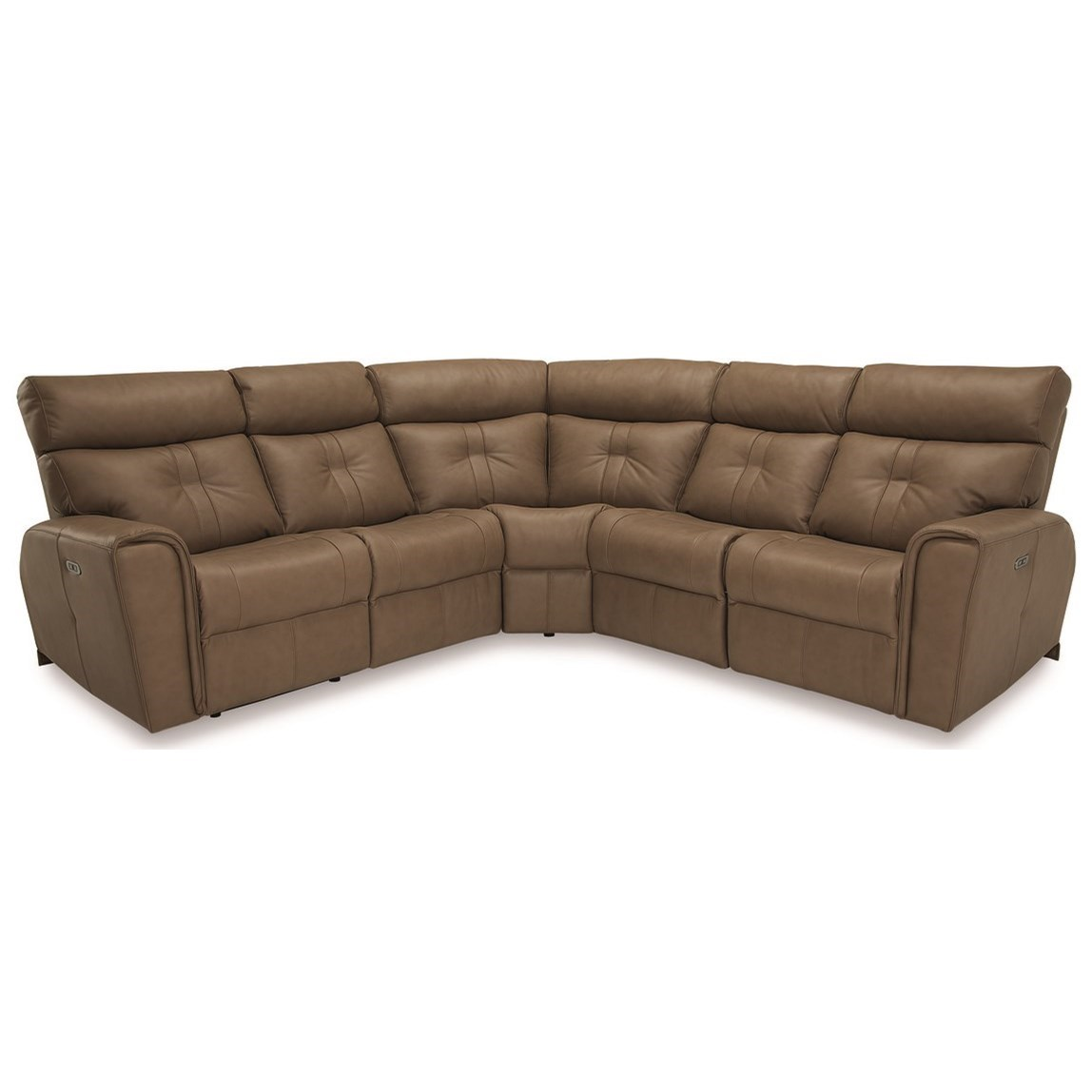 Corner Sectional Power Recliner w/ Power HR