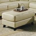 Palliser Alula 77427 Ottoman - Item Number: 77427-74-Classic Limestone