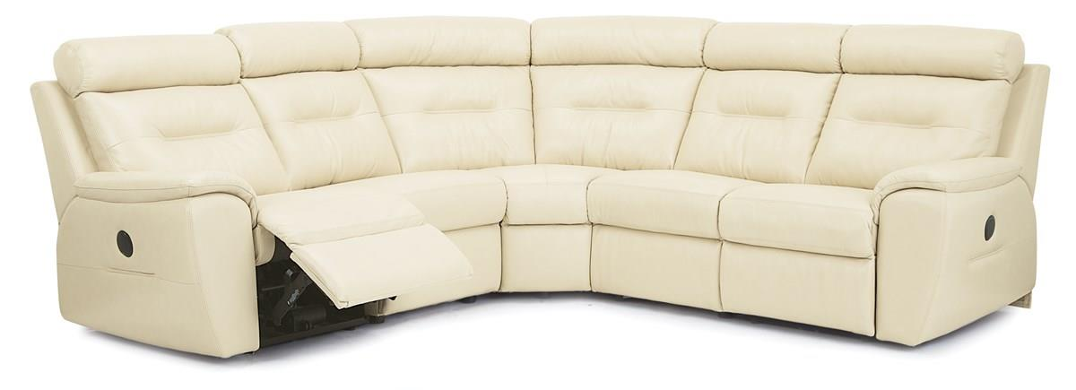 Arlington Traditional Reclining Sectional Sofa by Palliser at Furniture and ApplianceMart