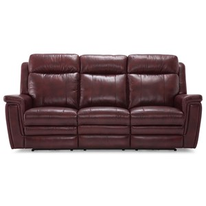 Sofa Power Recliner w/ Pwr HR & Lumbar