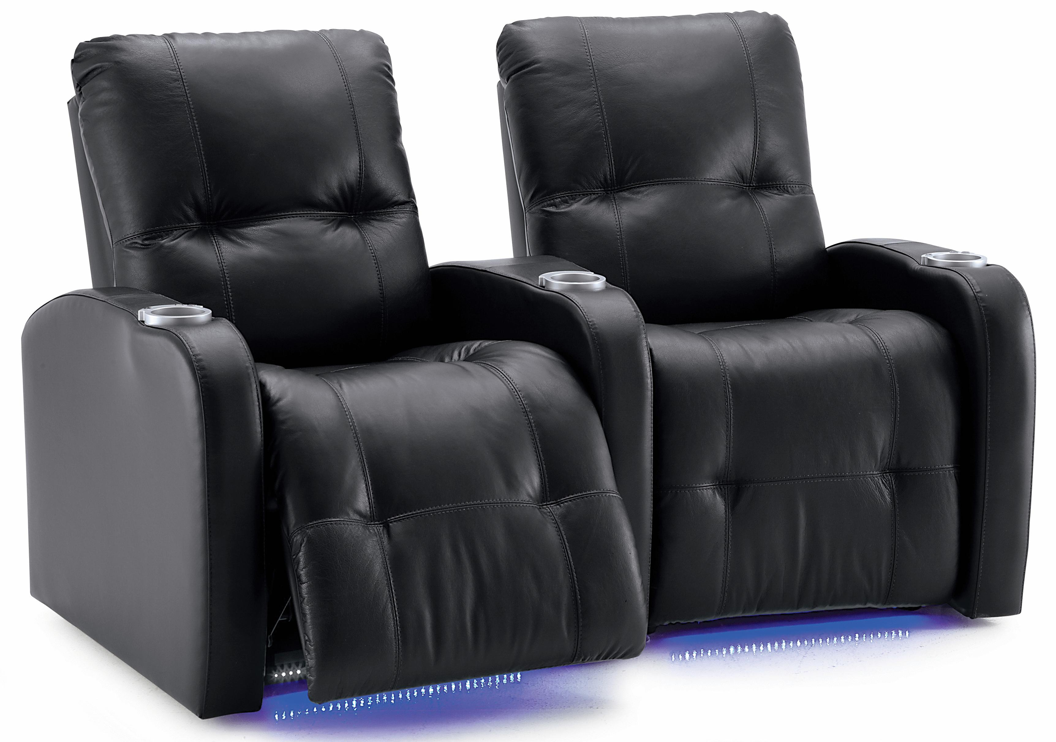 Palliser Auxiliary Manual Theater Seating - Item Number: 41450-2R+6R