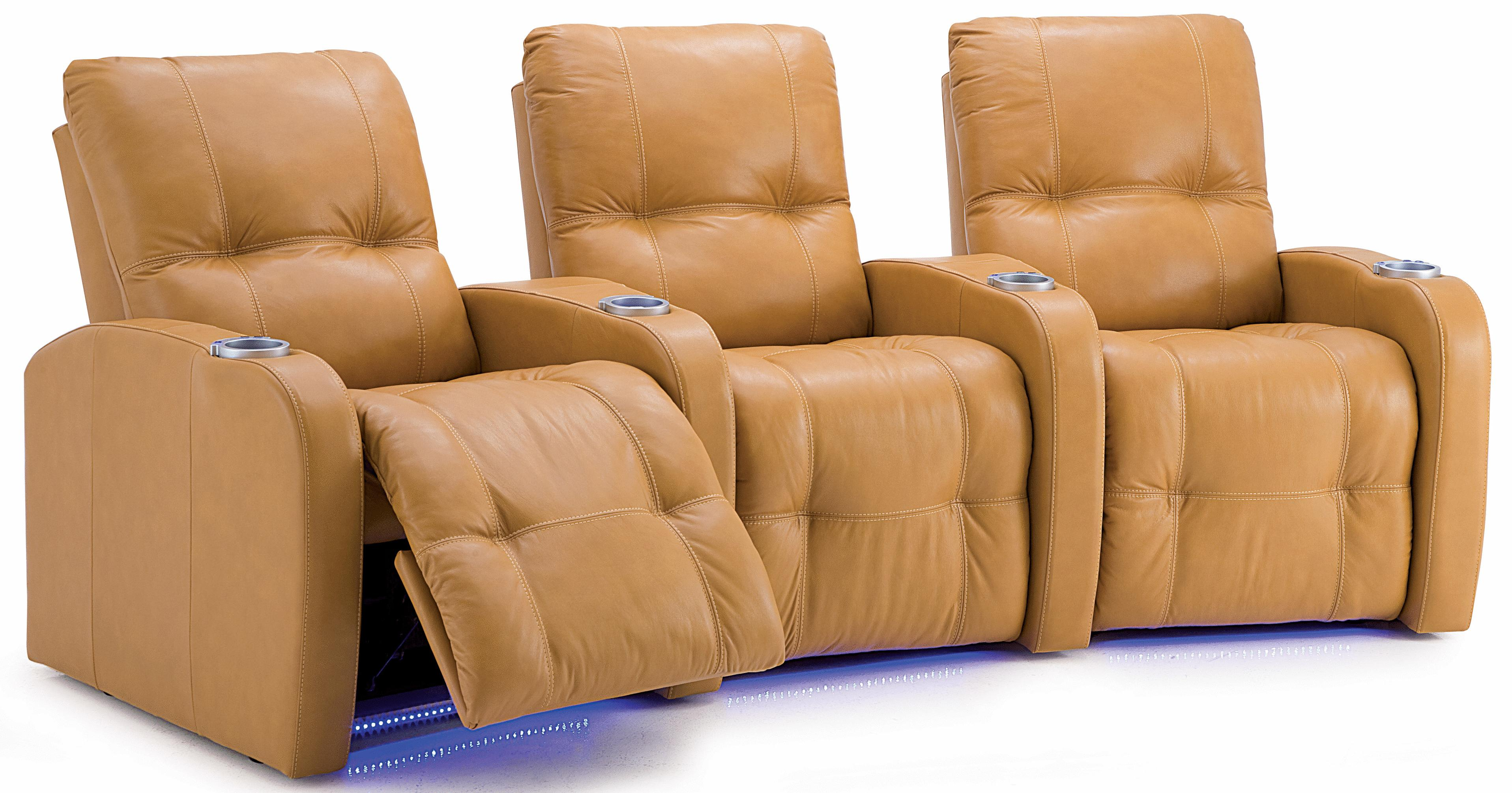 Palliser Auxiliary Power Theater Seating - Item Number: 41450-5E+8E+6E