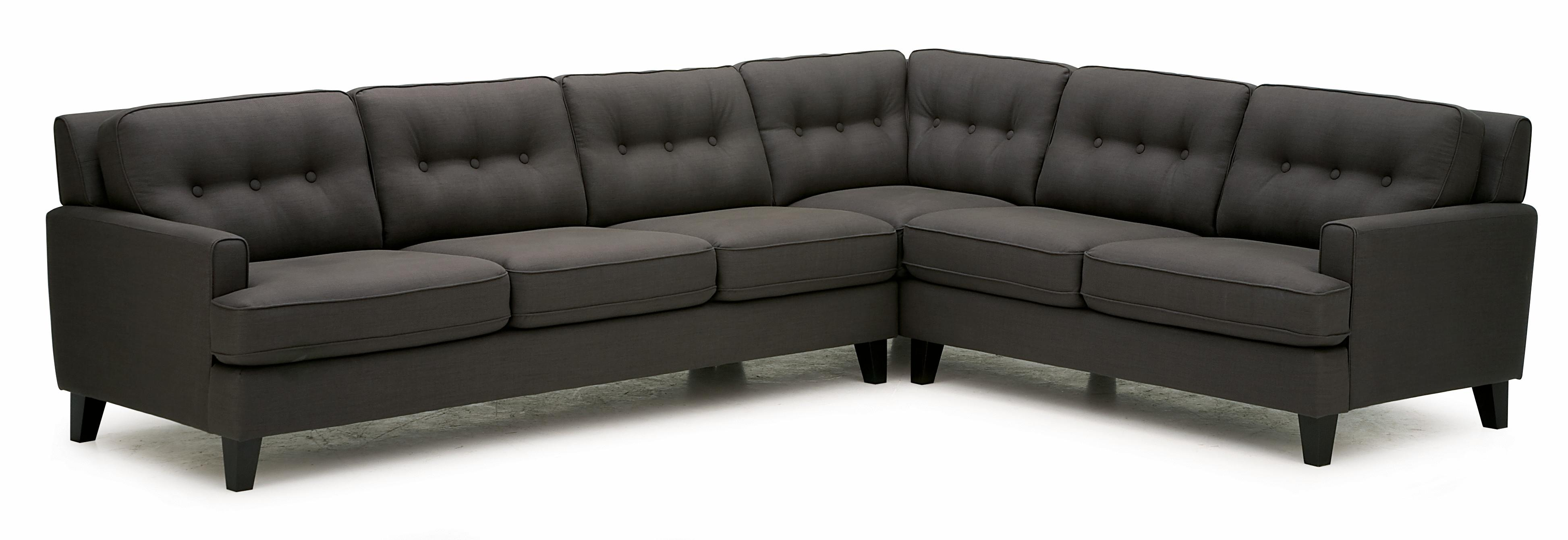 Two Piece Sectional Sofa with LHF Sofa Split