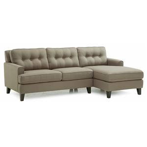 Palliser Barbara Two Piece Sectional Sofa with RHF Chaise