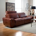Palliser Beaumont Sofa Power Recliner - Item Number: 41637-5P-Alfresco Brandy