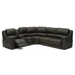 Palliser Benson 41164 L-Shaped Sectional