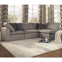Palliser Bloom 4-Seat Sectional Sofa - Item Number: 77802-11+2X81+11