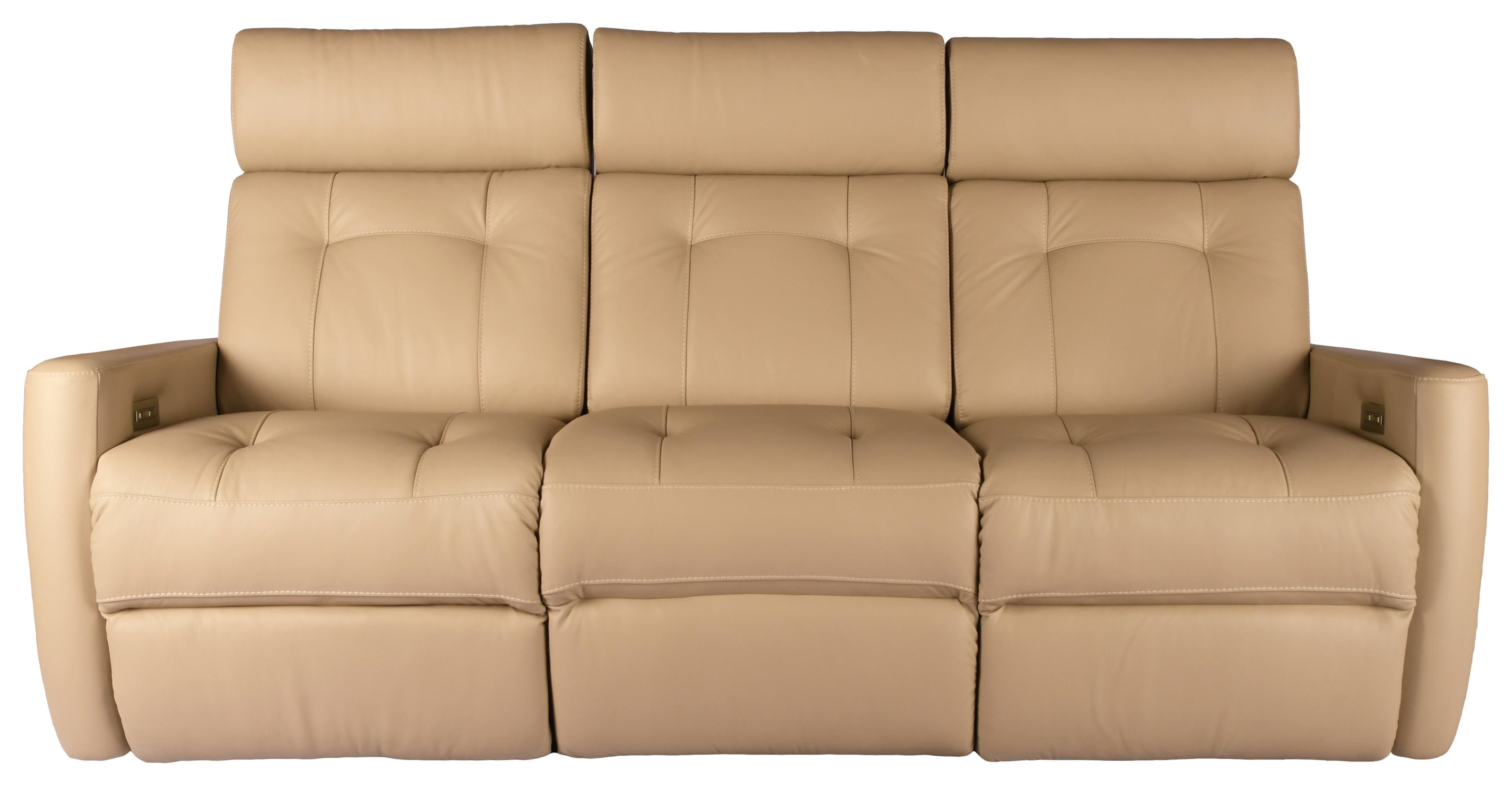 Braemore Power Reclining Sofa by Rockwood at Bennett's Furniture and Mattresses