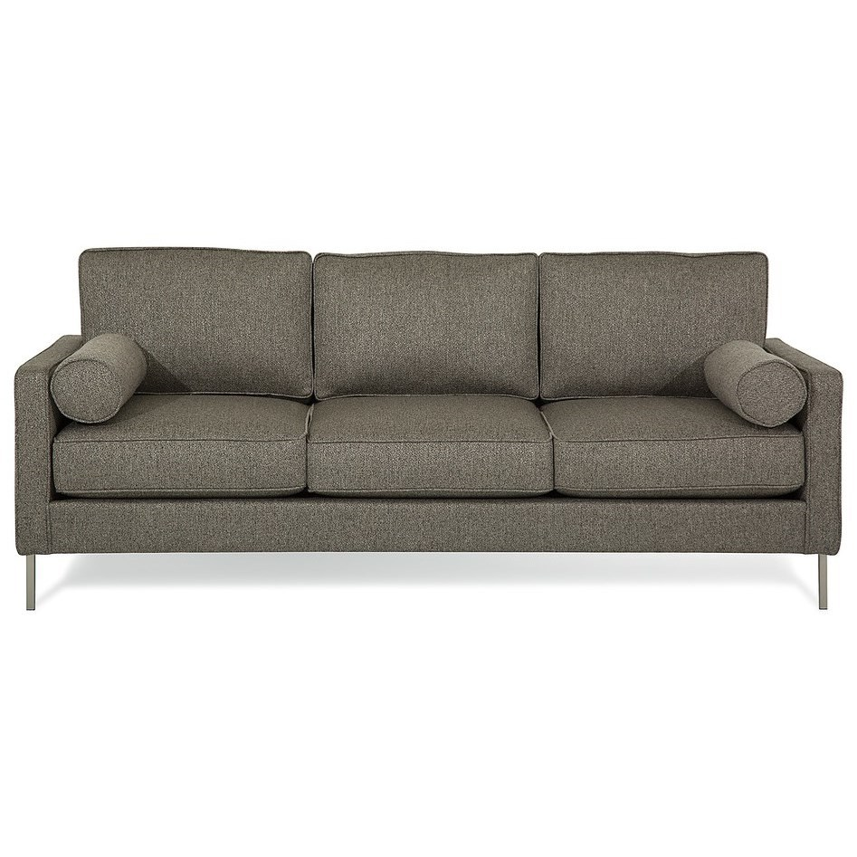 Sofa with 2 Bolster Pillows