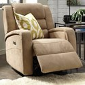Palliser Bryn Power Rocker Recliner - Item Number: 48005-39-Hush Camel