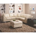 Palliser Cato 3-Piece Sectional - Item Number: 77493-07+09+08-Venice Tawny