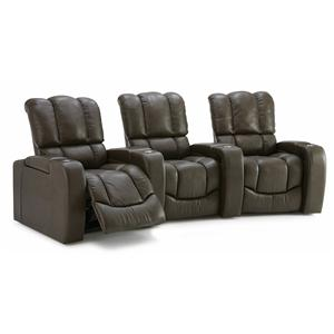 Palliser Channel Three Seat Curved Sectional