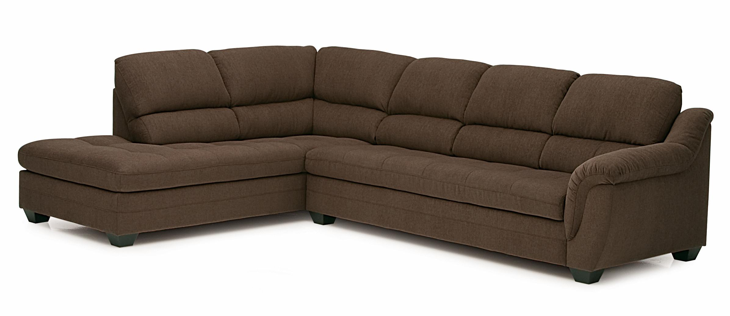 Cincinnati Sectional Sofa With Open Chaise End By Palliser