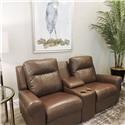 Palliser Clearance Console Loveseat With Headrest - Item Number: 139948361