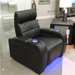 Recliner w/ Red Lights