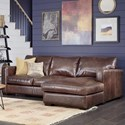 Palliser Colebrook Sectional Sofa - Item Number: 77267-C1-Fireside Walnut