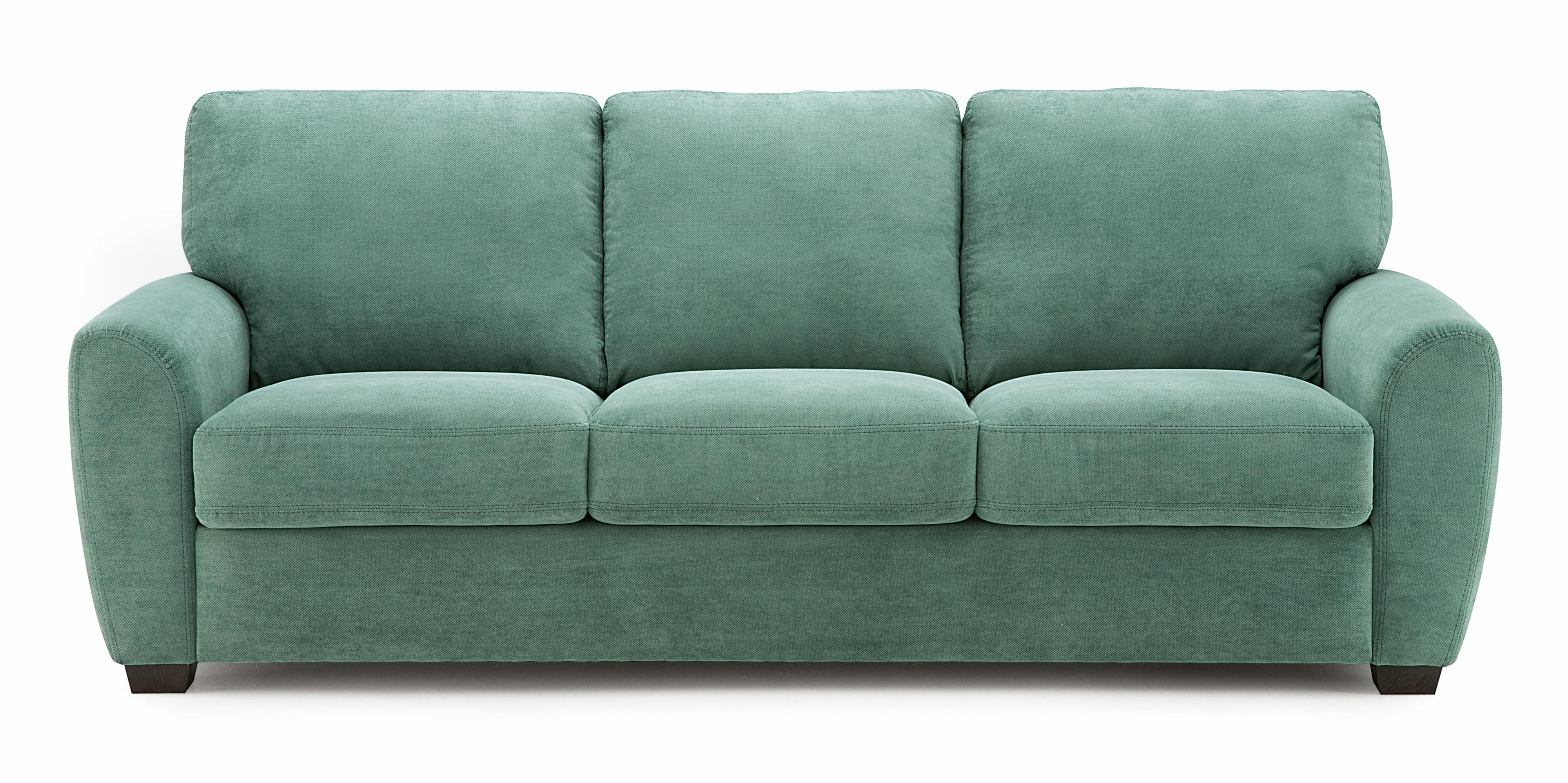 Palliser Connecticut Contemporary Sofa With Rounded Track