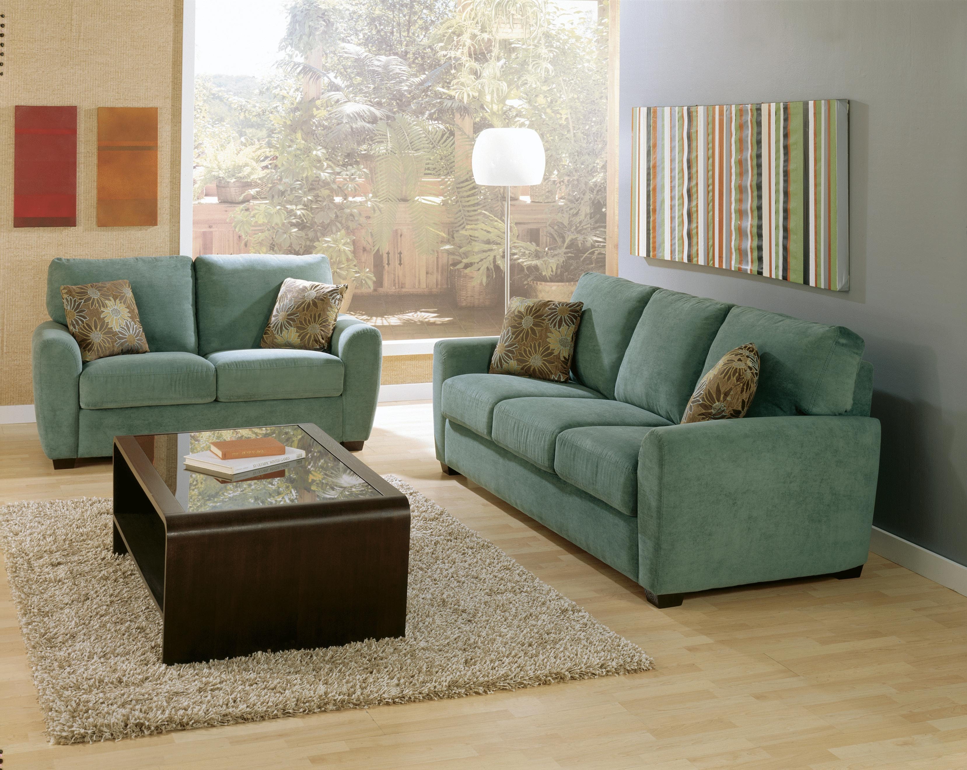 Palliser Connecticut Contemporary Loveseat With Rounded