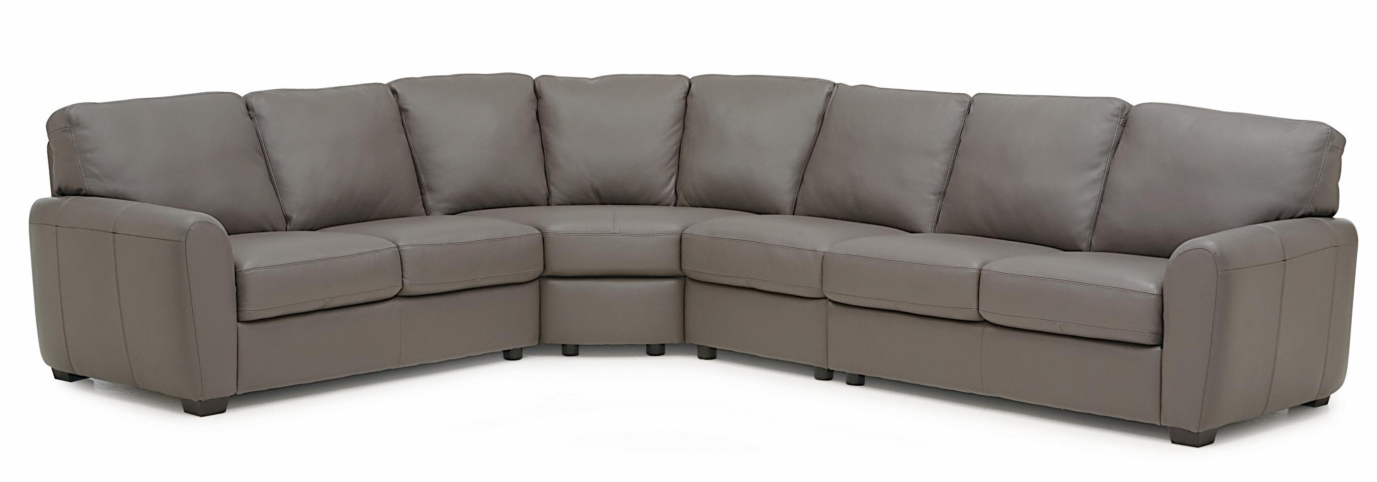 Connecticut Contemporary Sectional Sofa With LHF Loveseat