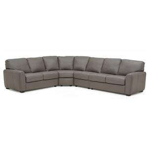 Palliser Connecticut 4-Piece Sectional Sofa