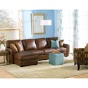 Palliser Connecticut Contemporary Sectional Sofa with LHF Chaise